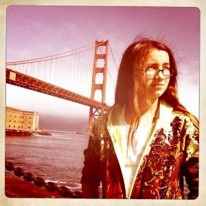 Mini-Me at Golden Gate