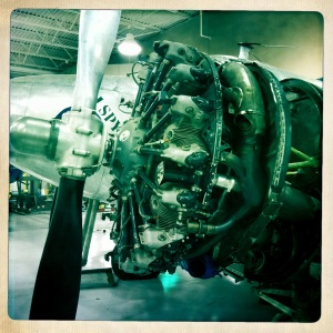 Turbo prop engine