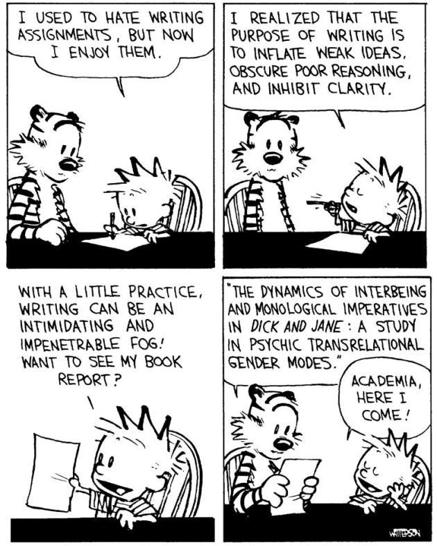 Calvin & Hobbes courtesy Bill Watterson